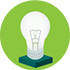 Small business lighting icon