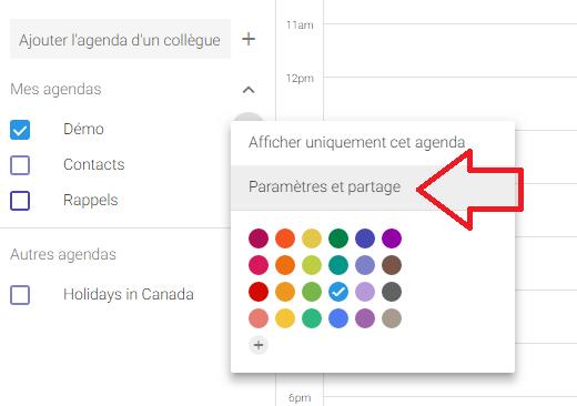 Calendrier A Cocher.Trouver Votre Flux De Calendrier Dans Google Agenda