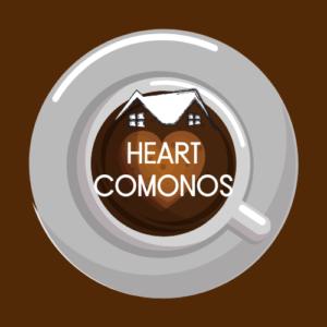 heart comonos logo